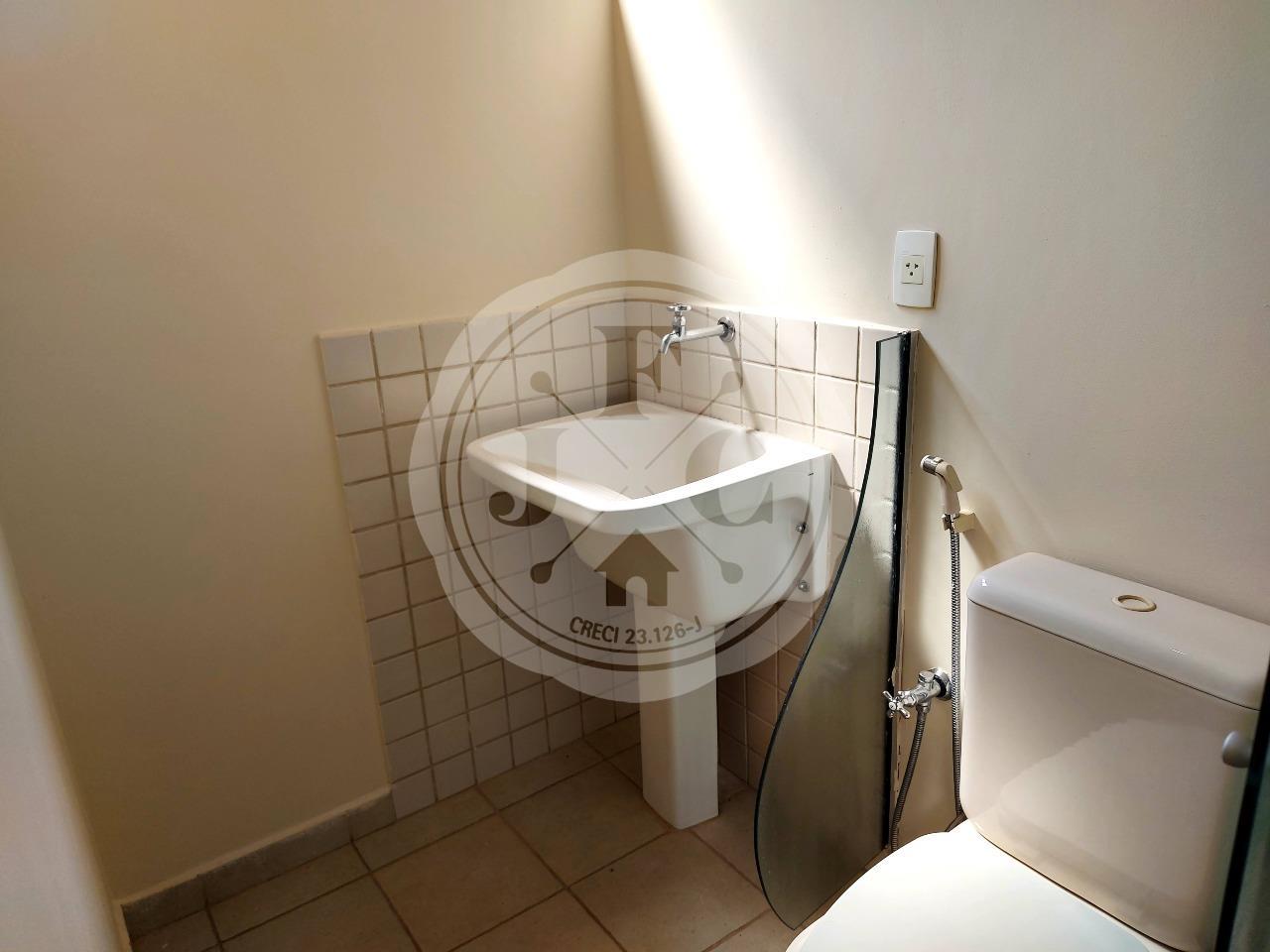 Kitnet para aluguel no Vila Amélia: Banheiro