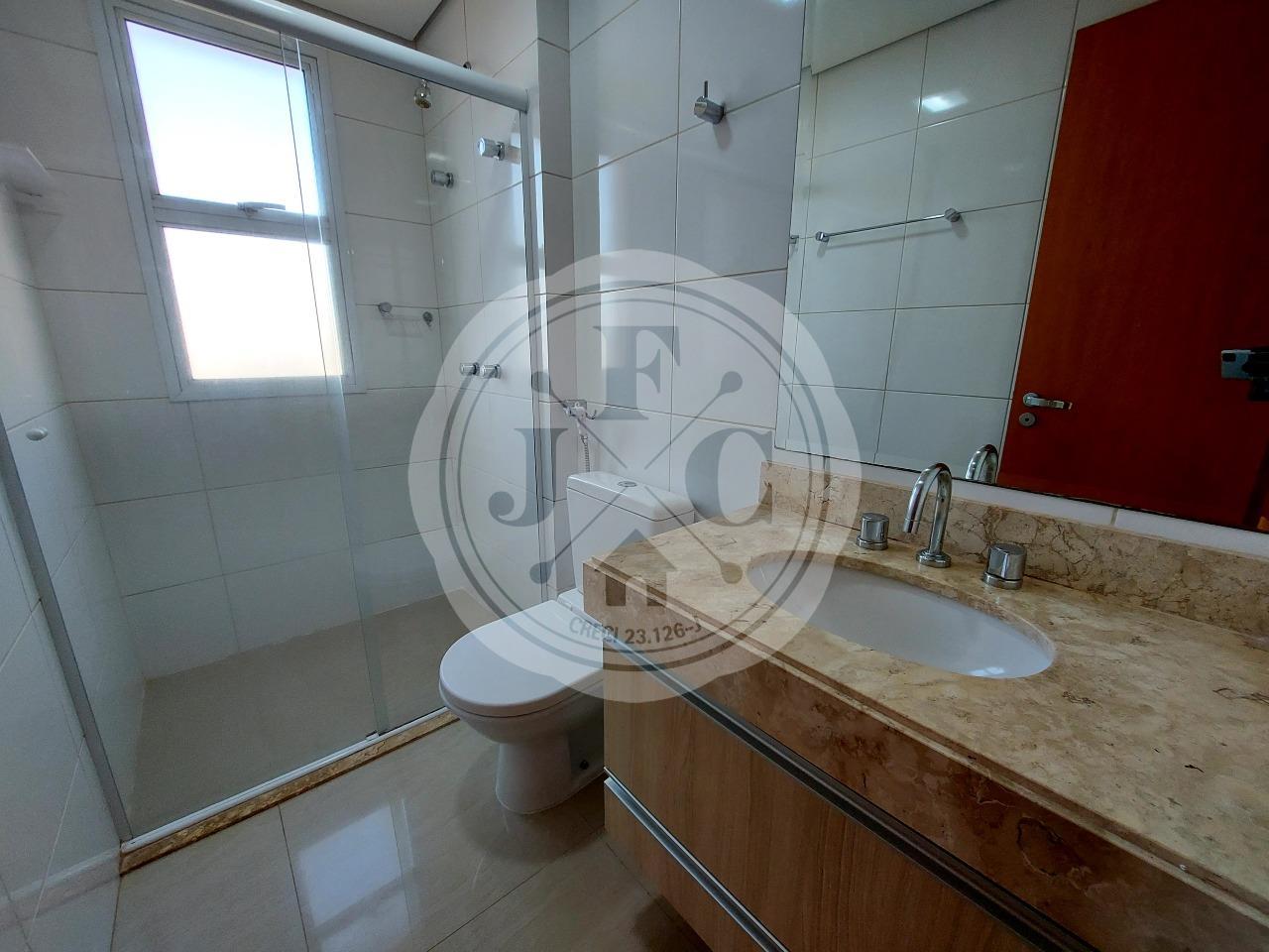 Apartamento para aluguel no Bosque das Juritis: Banheiro Suíte 1
