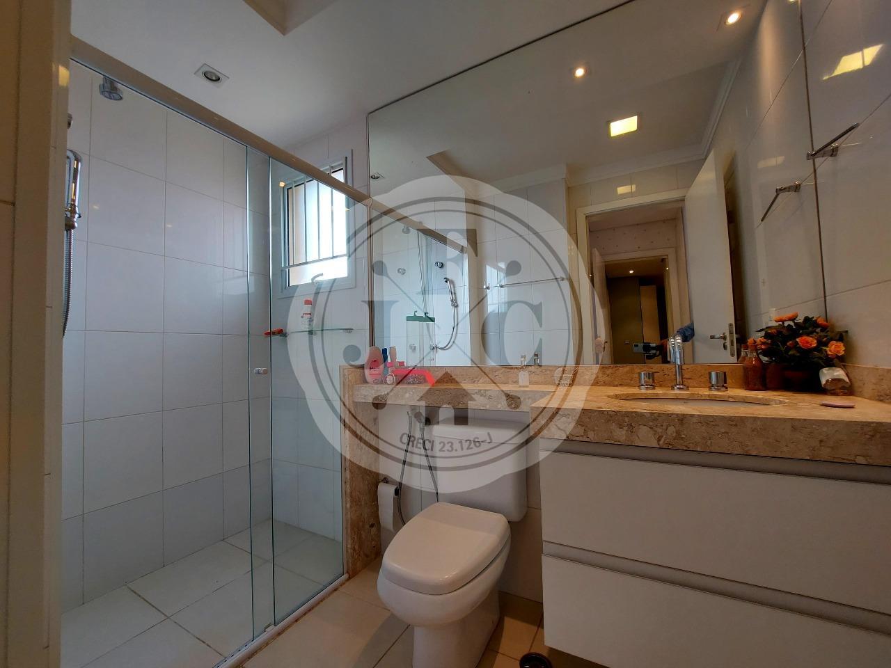 Apartamento para aluguel no Bosque das Juritis: Banheiro Suíte 2