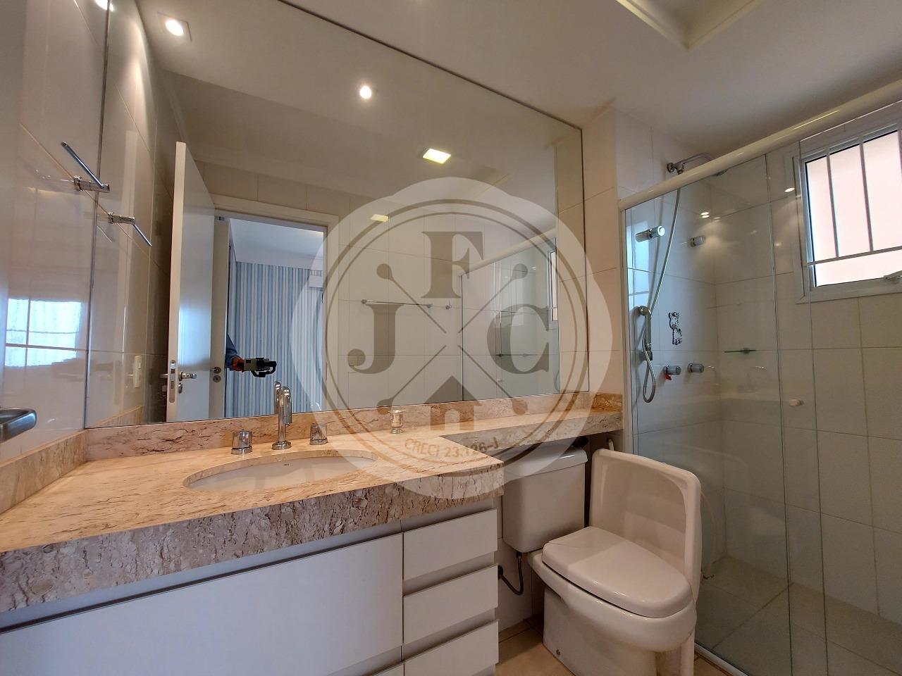 Apartamento para aluguel no Bosque das Juritis: Banheiro Suíte 3