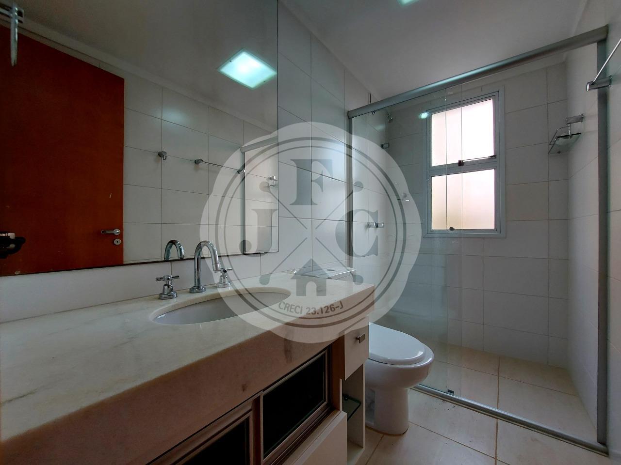 Apartamento à venda no Jardim Botânico: Banheiro social