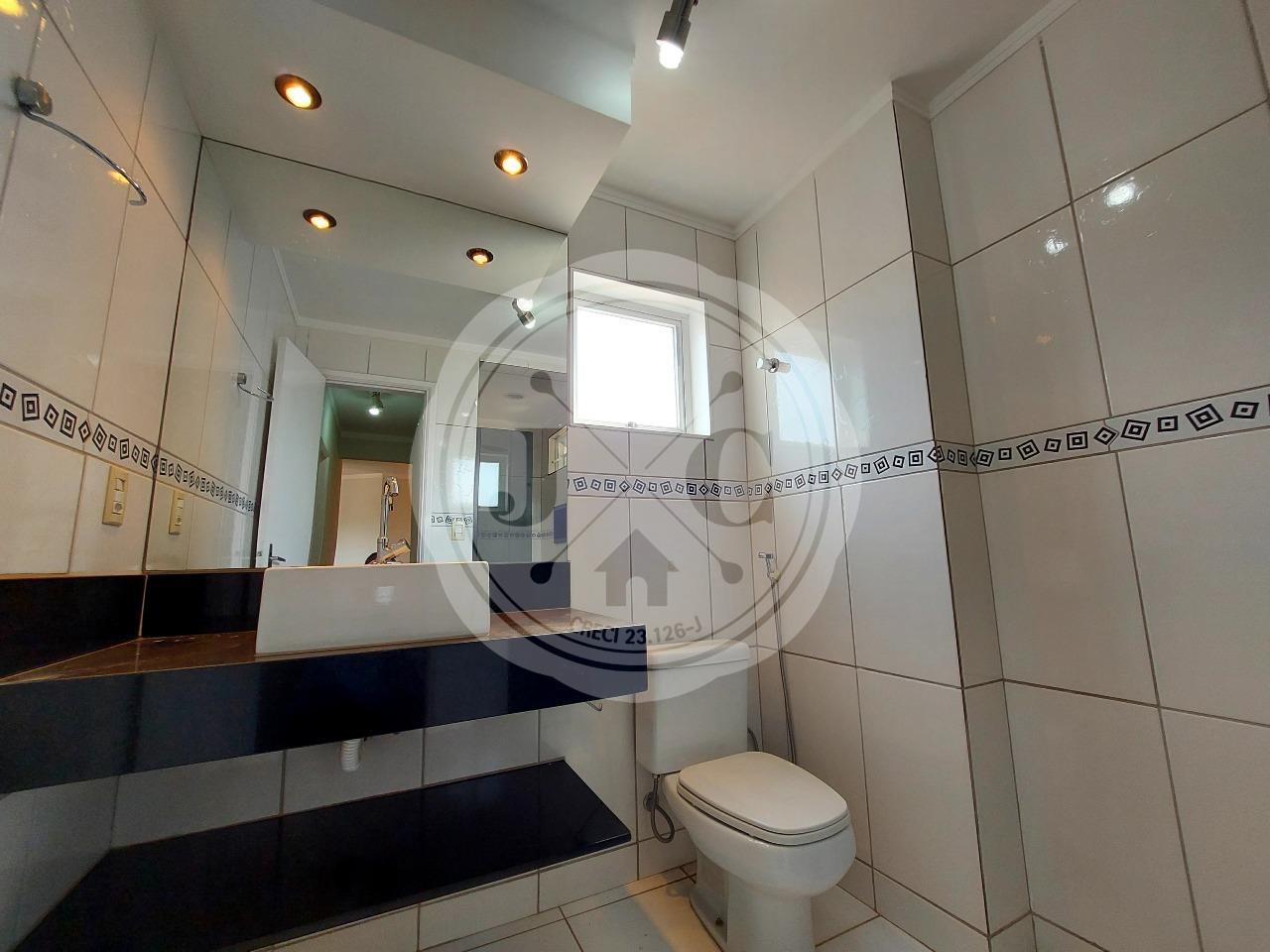 Apartamento para aluguel no Vila Amélia: Banheiro