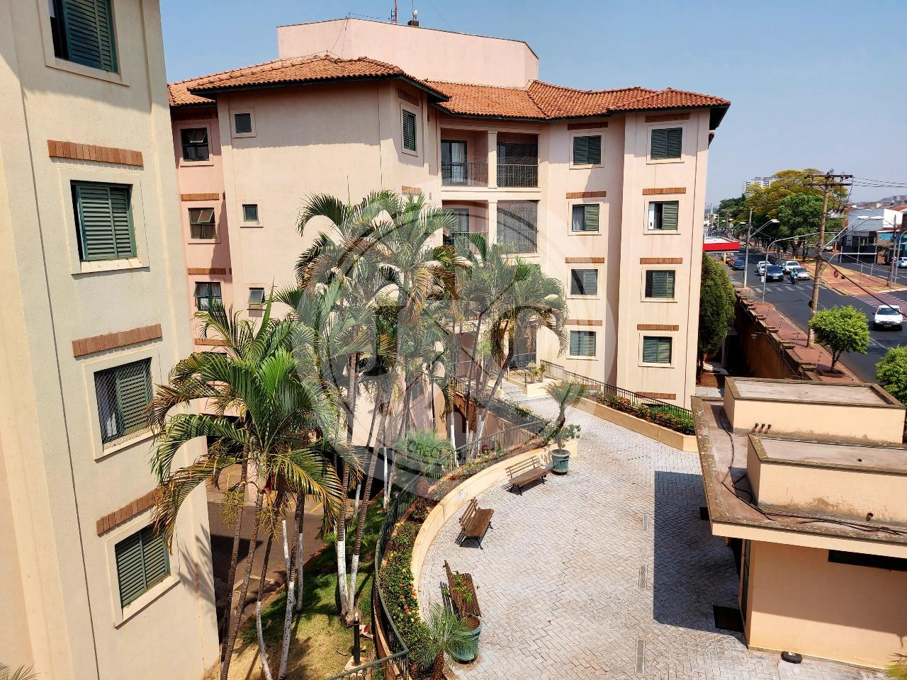 Apartamento para aluguel no Vila Amélia: Vista Sacada