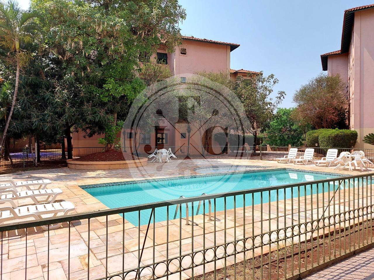 Apartamento para aluguel no Vila Amélia: Piscina