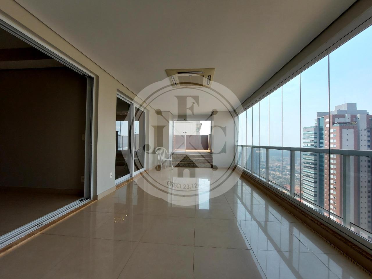 Apartamento para aluguel no Residencial Morro do Ipê: Sacada Living