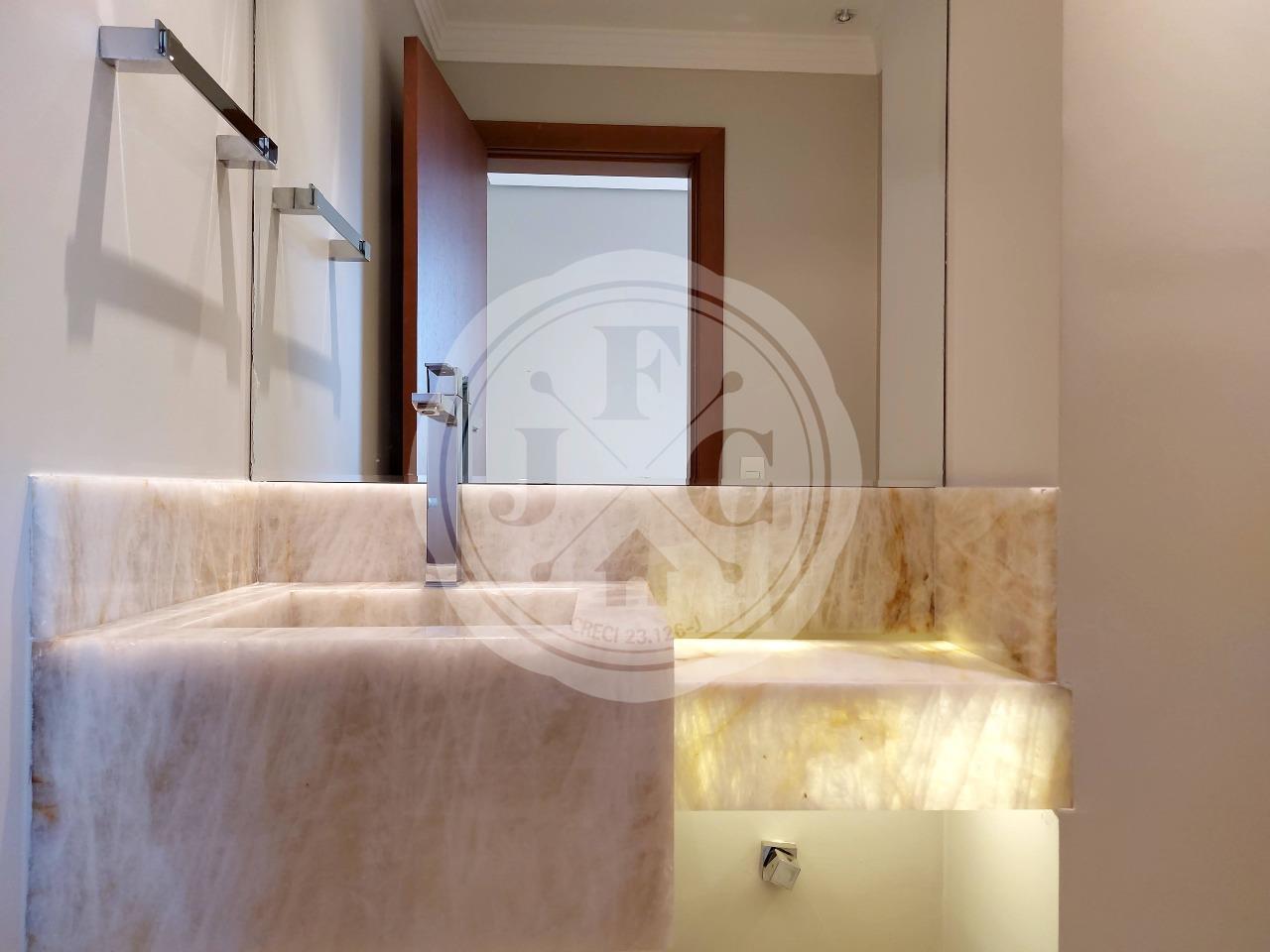 Apartamento para aluguel no Residencial Morro do Ipê: Lavabo