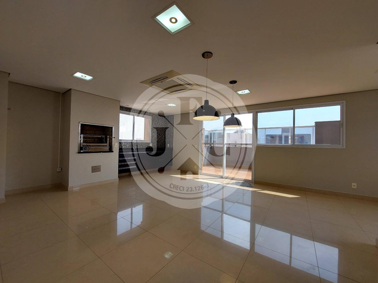Apartamento para aluguel no Residencial Morro do Ipê: Varanda Gourmet com ar central