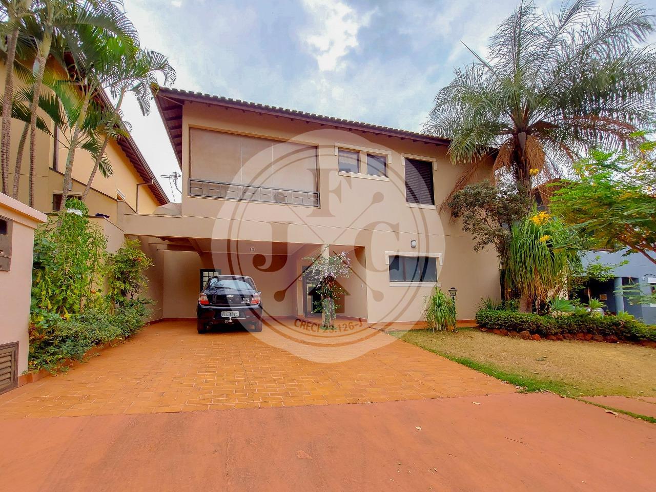 Casa em Condomínio à venda no Condomínio Santa Helena: Fachada