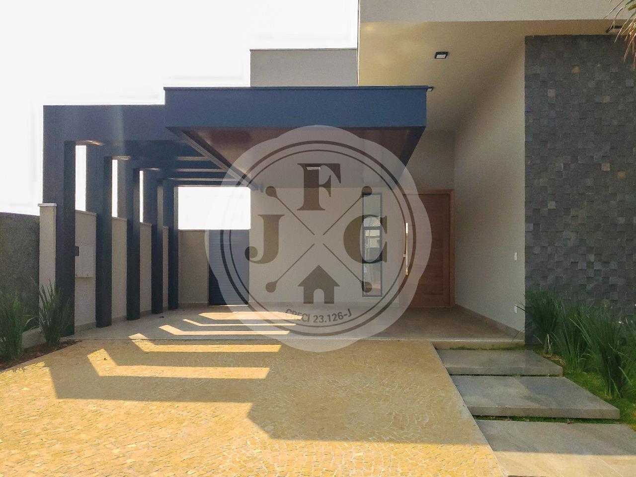 Casa térrea à venda em condomínio fechado na zona sul de Ribeirão Preto.