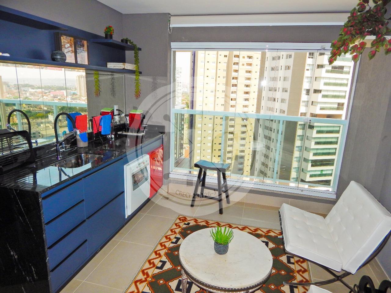 Apartamento para aluguel no Bosque das Juritis: Sacada