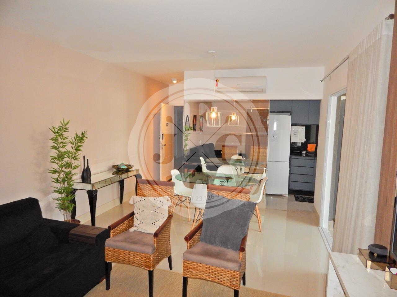 Exclusivo apartamento mobiliado à venda com 3 dormitórios sendo 1 suíte no Bosque das Juritis.