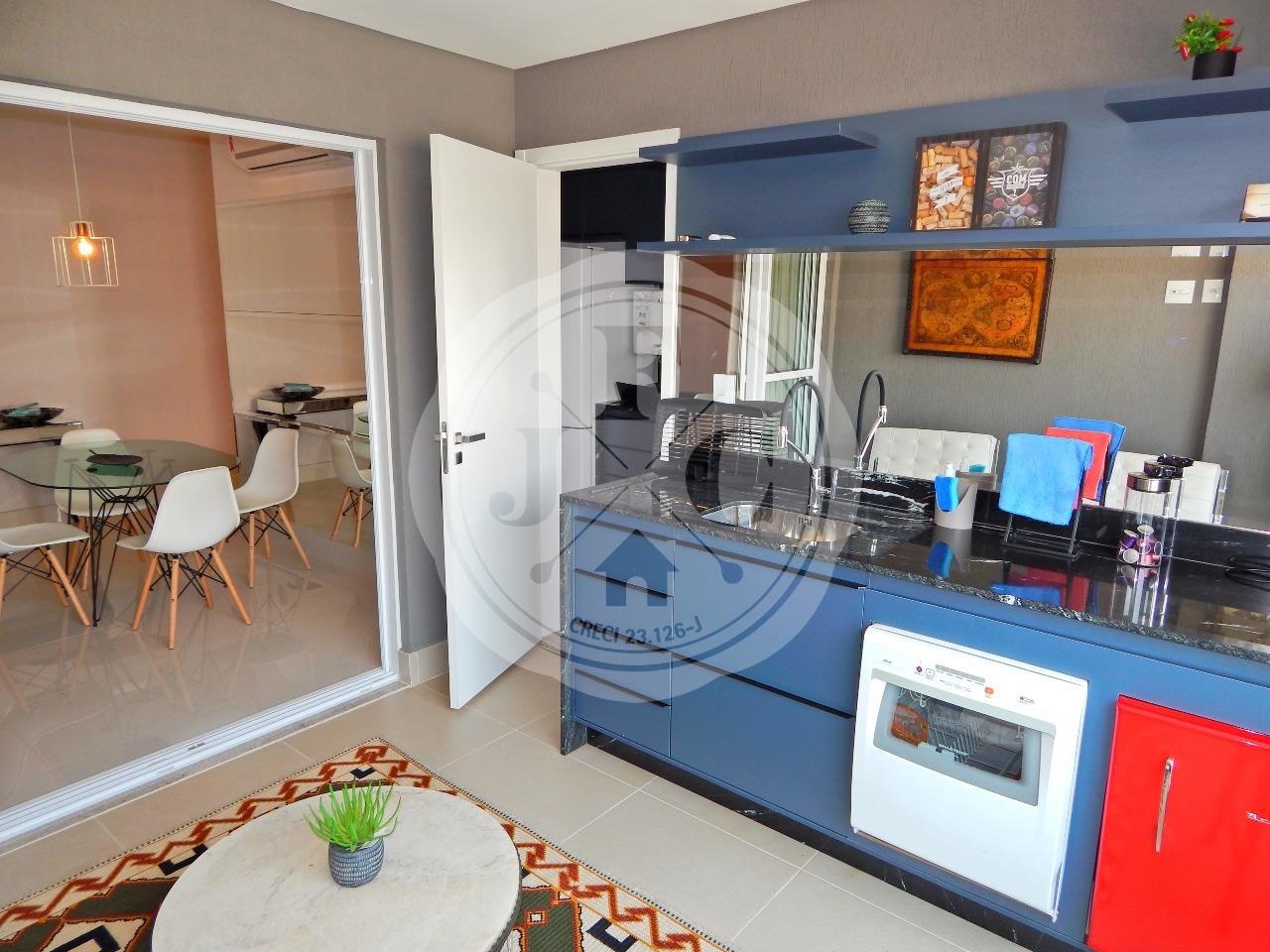 Apartamento à venda no Bosque das Juritis: Sacada