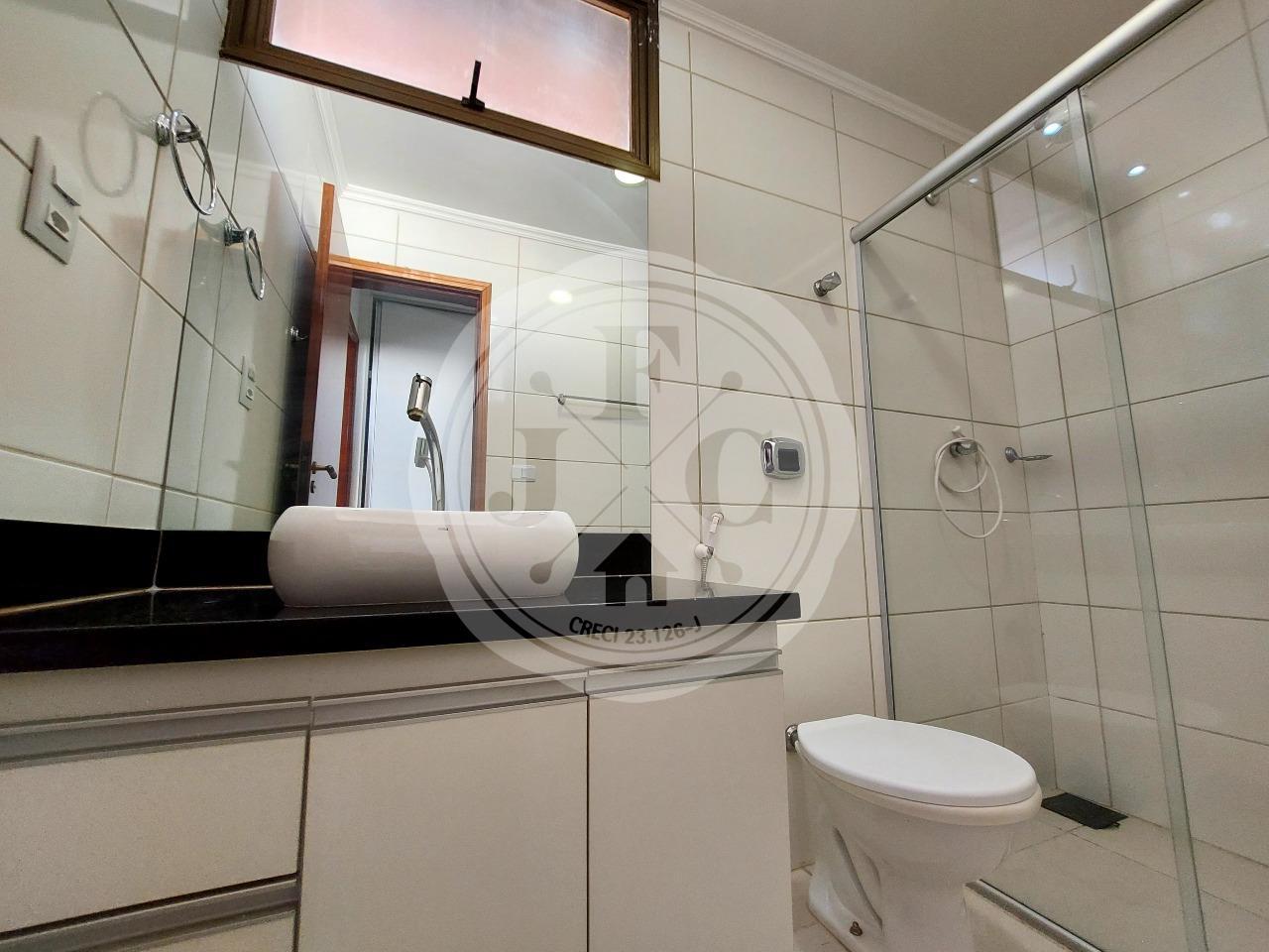 Apartamento para aluguel no Centro: Banheiro