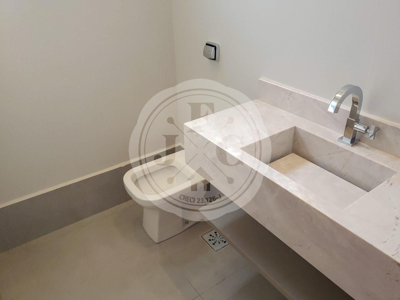 Casa em Condomínio para aluguel no Loteamento Terras de Florença: lavabo