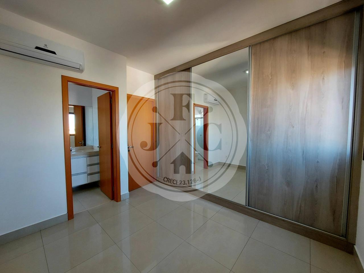 Apartamento para aluguel no Jardim Irajá: Suíte com ar