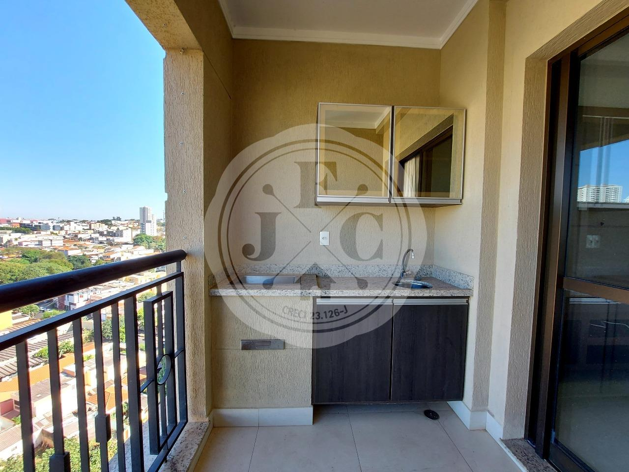 Apartamento para aluguel no Jardim Irajá: Sacada