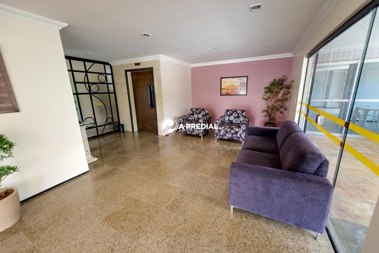 Apartamento para aluguel no Aldeota: recepção