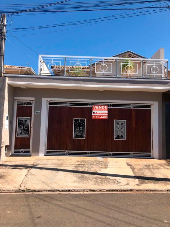 Casa para comprar, 3 quartos, 1 suíte, 2 vagas, no bairro Residencial Portal da Água Branca em Piracicaba - SP