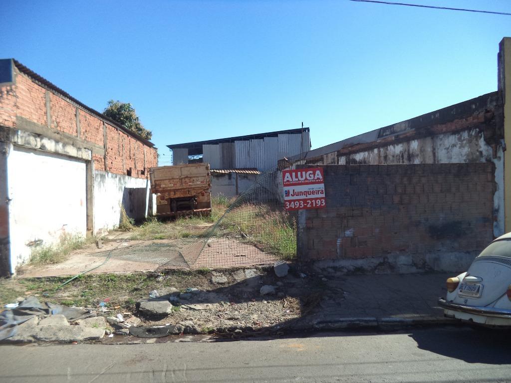Terreno para alugar, no bairro Centro em Rio das Pedras - SP