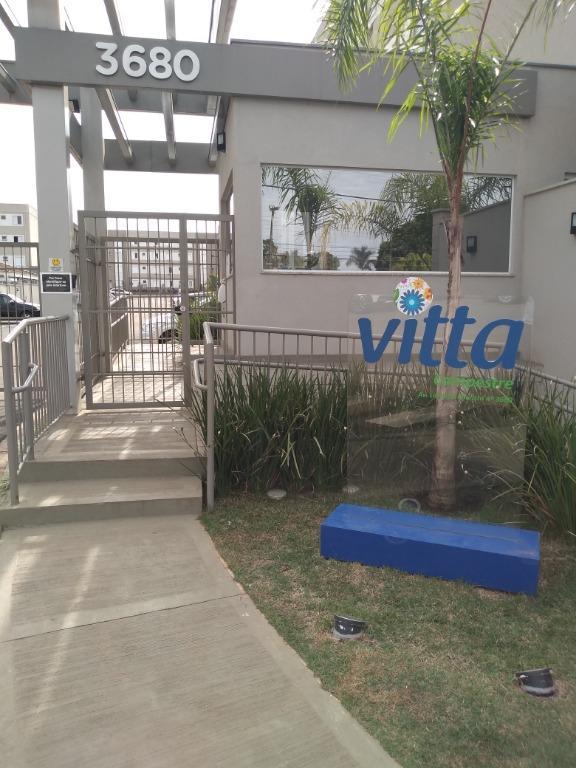 Apartamento para alugar, 2 quartos, 1 vaga, no bairro Campestre em Piracicaba - SP