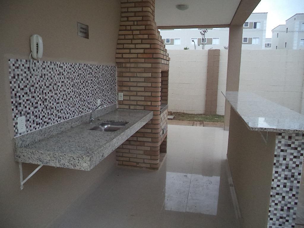 Apartamento para comprar, 2 quartos, 1 vaga, no bairro Condomínio Clube Parque Paradiso em Piracicaba - SP