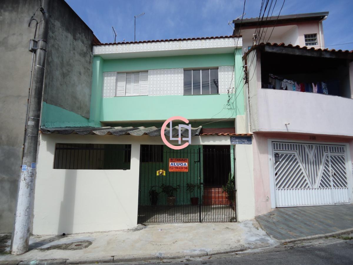 Casa para aluguel, 2 quartos, 1 vaga, Baeta Neves - São Bernardo do Campo/SP