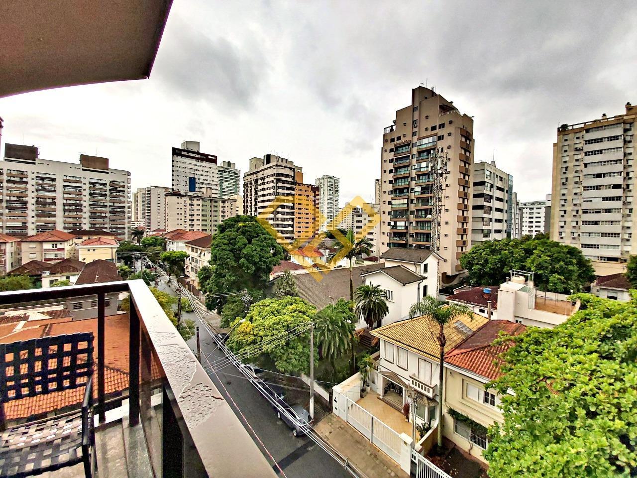 Apartamento à venda no Gonzaga: Vista da varanda