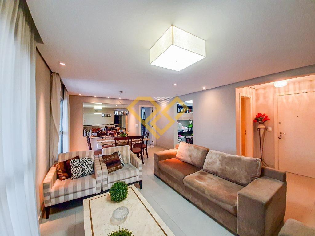 Apartamento à venda no Gonzaga: varanda-gourmet