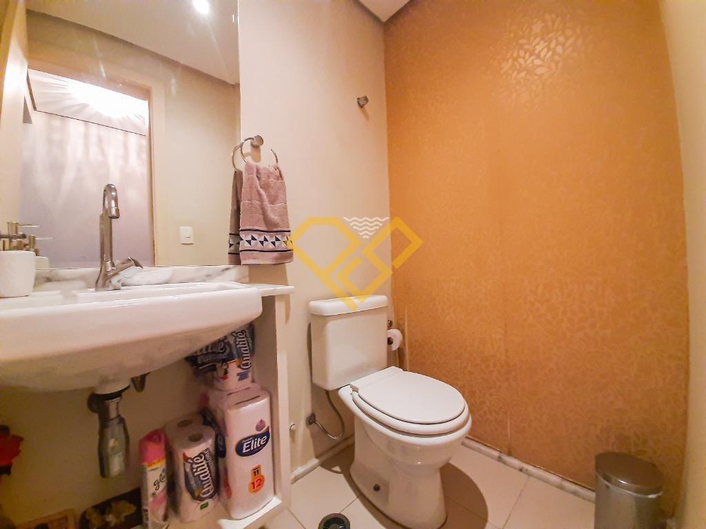 Apartamento à venda no Gonzaga: Lavabo