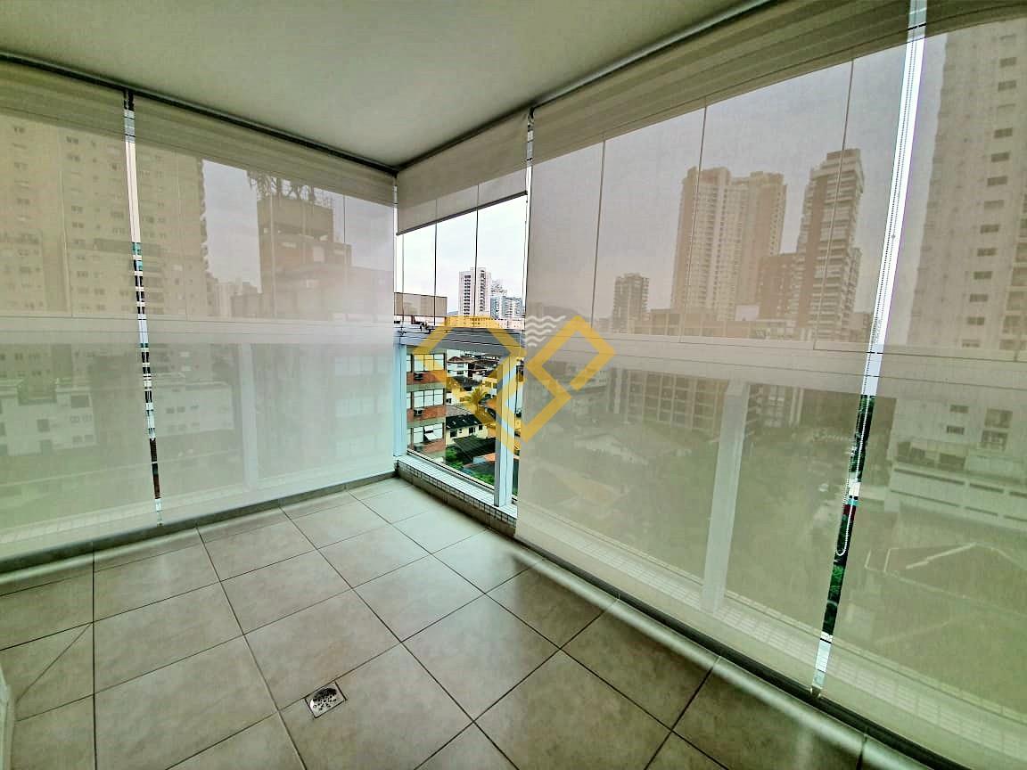 Apartamento à venda no Embaré: Varanda da suíte 2