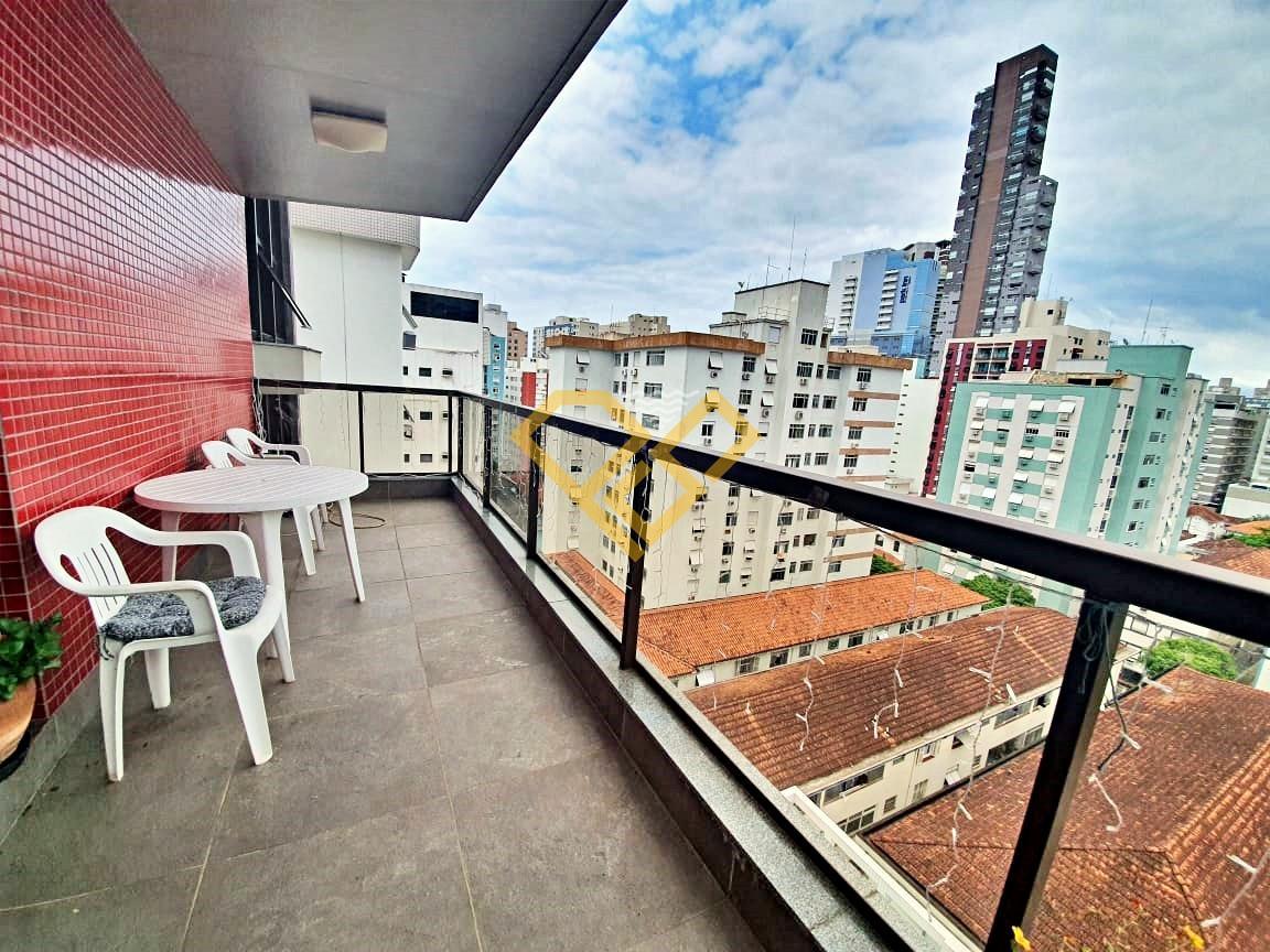Apartamento à venda no Pompéia: Varanda