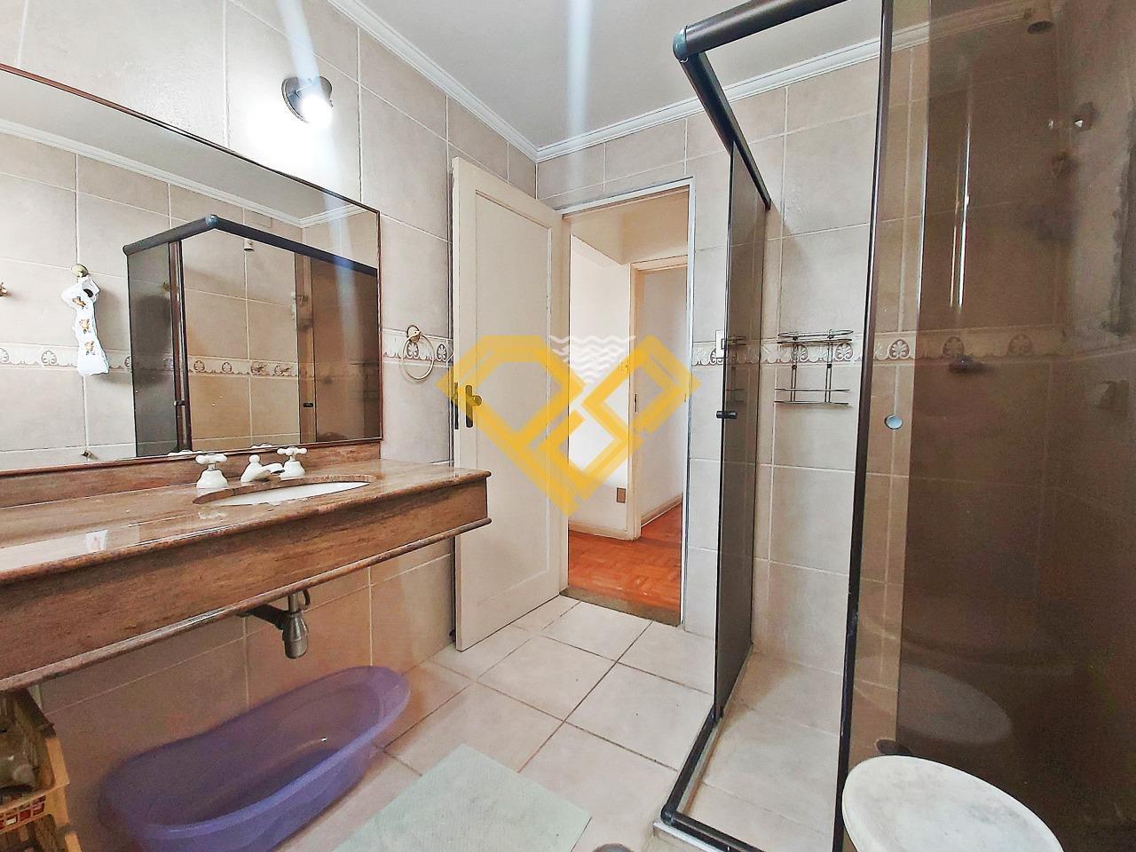 Apartamento à venda no Ponta da Praia: Wc da suíte