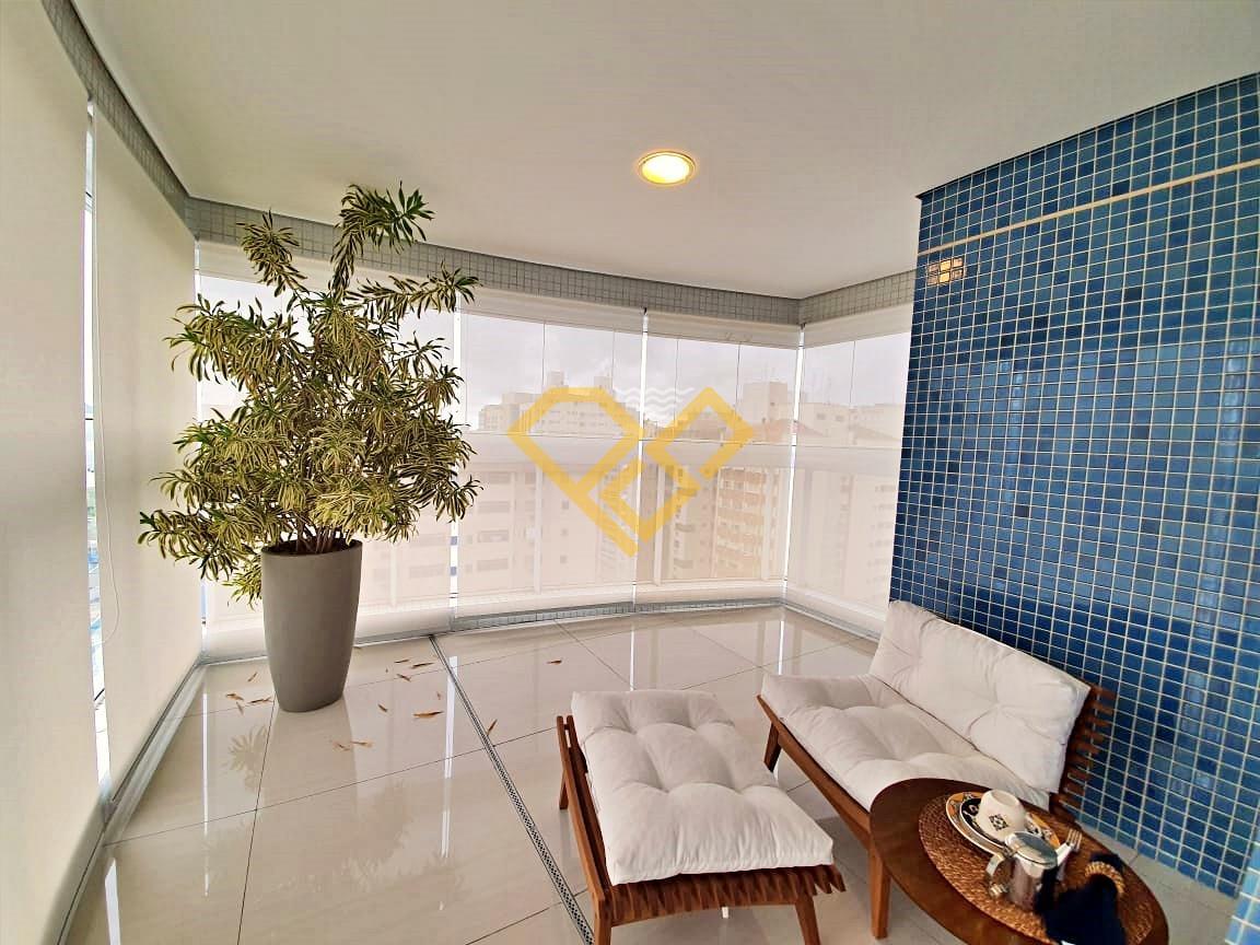 Apartamento à venda no Aparecida: Varanda