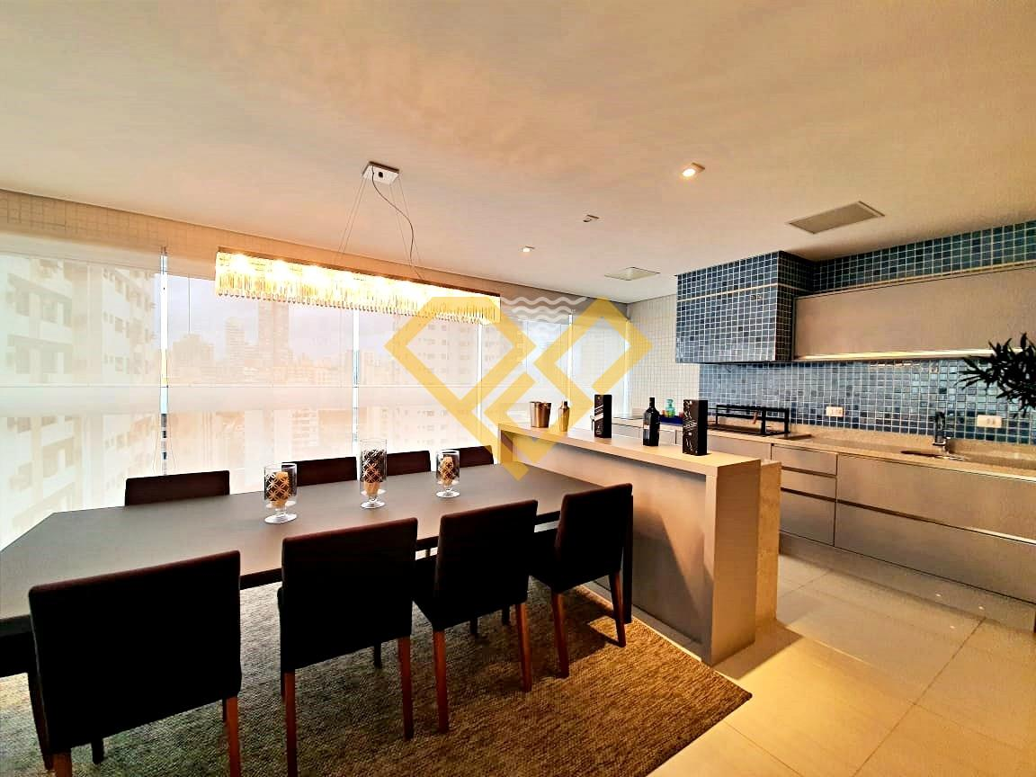 Apartamento à venda no Aparecida: Varanda gourmet