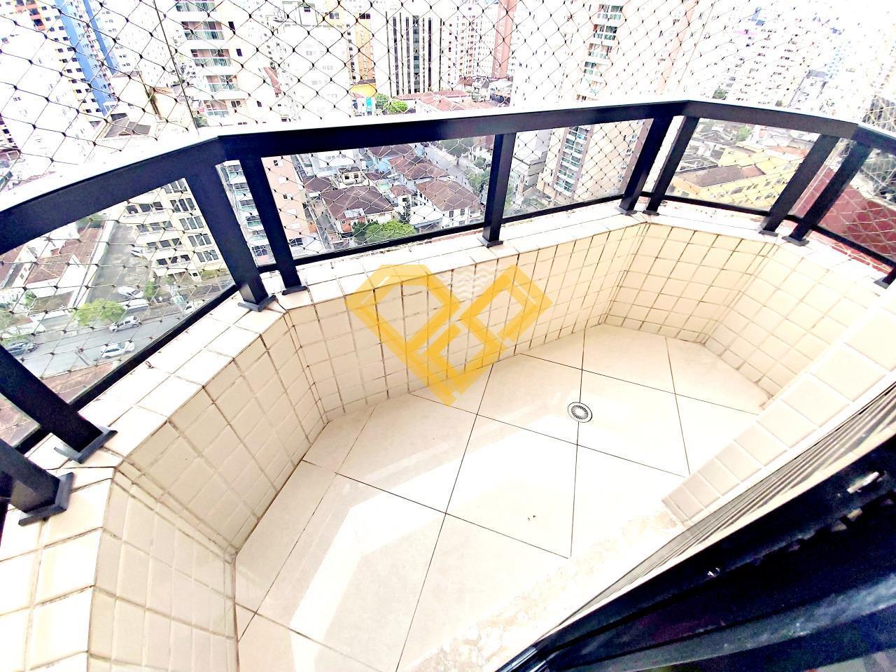 Apartamento à venda no Boqueirão: Varanda dormitório 1