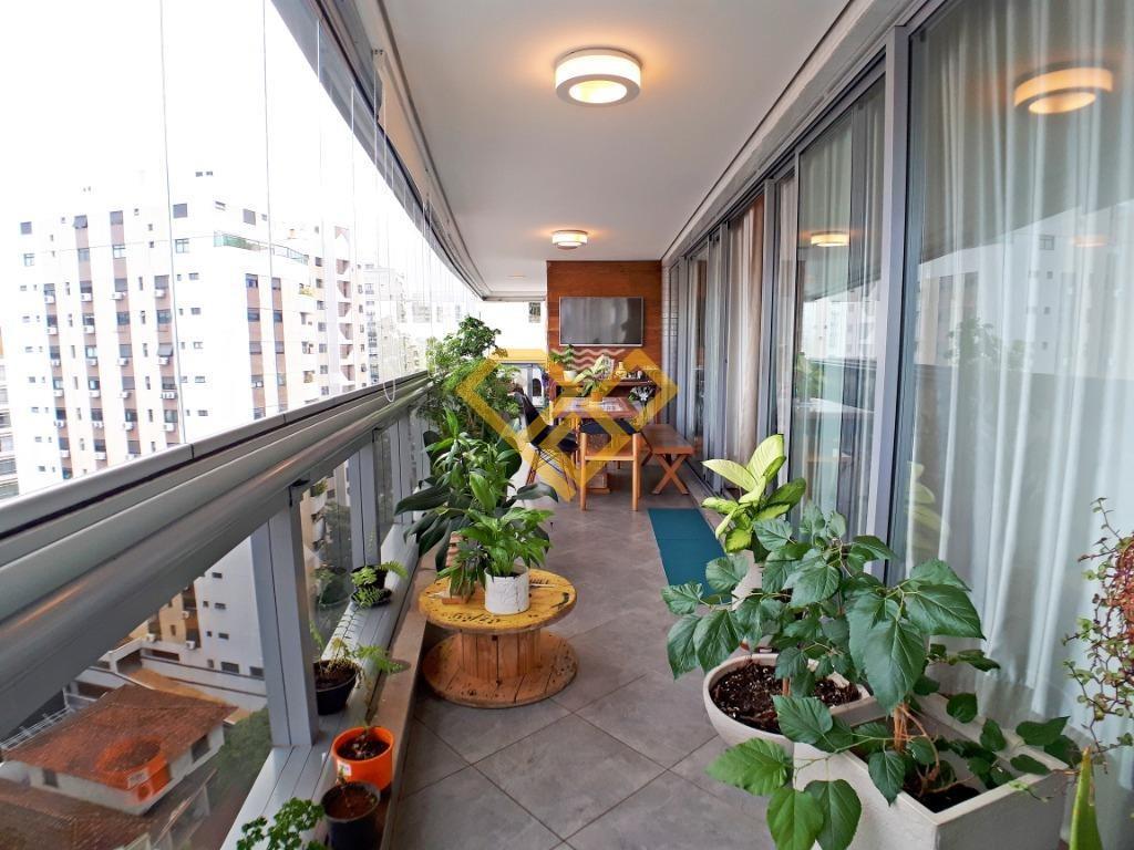 Apartamento à venda no Vila Rica: varanda fechada mobiliável
