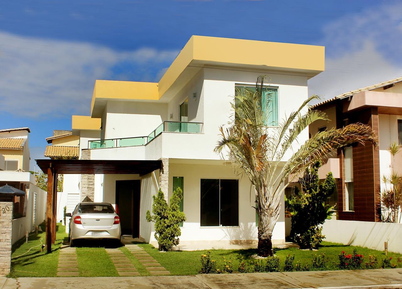 Casa no Condomínio São Lourenço, casa com 2 pavimentos