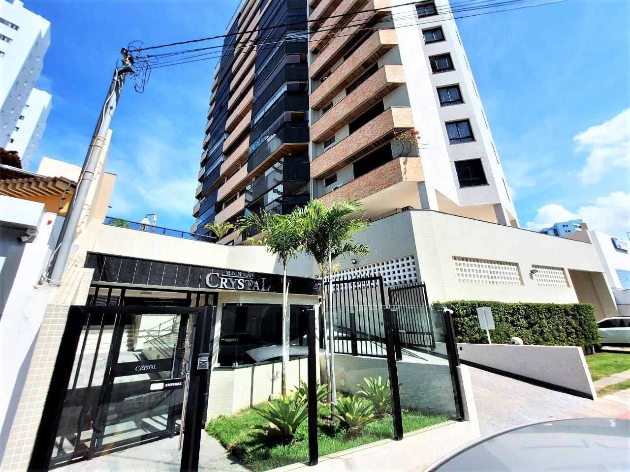 Apartamento no Condomínio Mansão Crystal no Bairro Treze de Julho