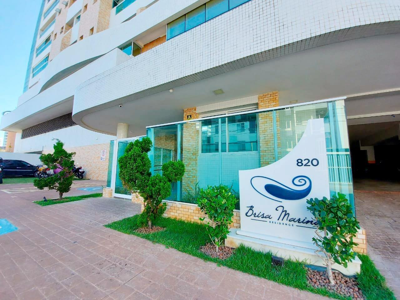 Apartamento Mobiliado no Brisa Marine Residence com vista mar.