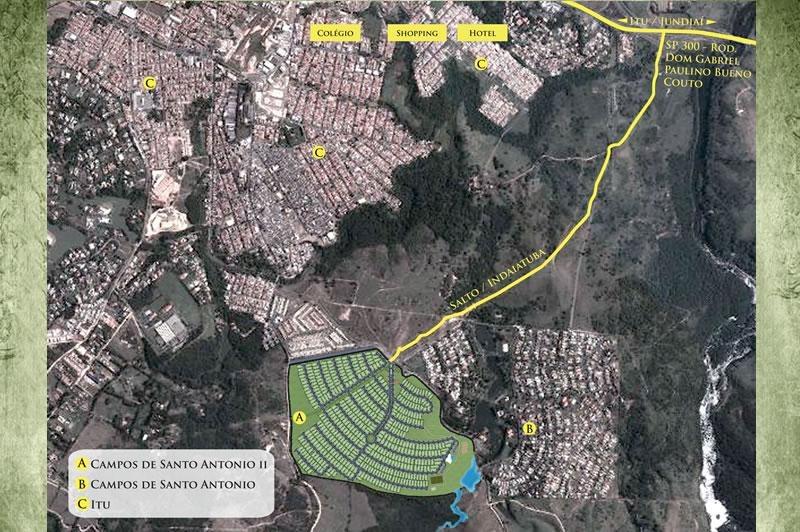 Condomínio Campos de Santo Antônio II - Itu/SP