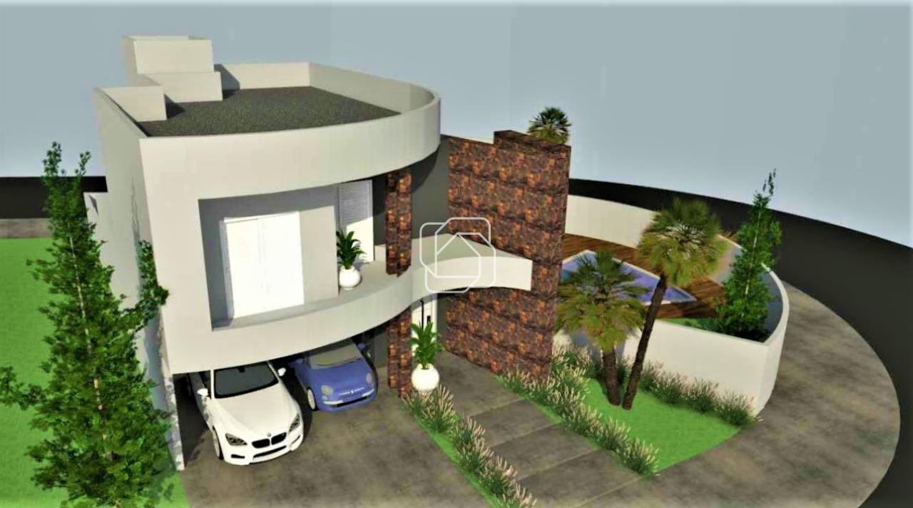 Casa de Condomínio à venda no Jardim Residencial Viena: Imagem meramente ilustrativa do projeto em 3D