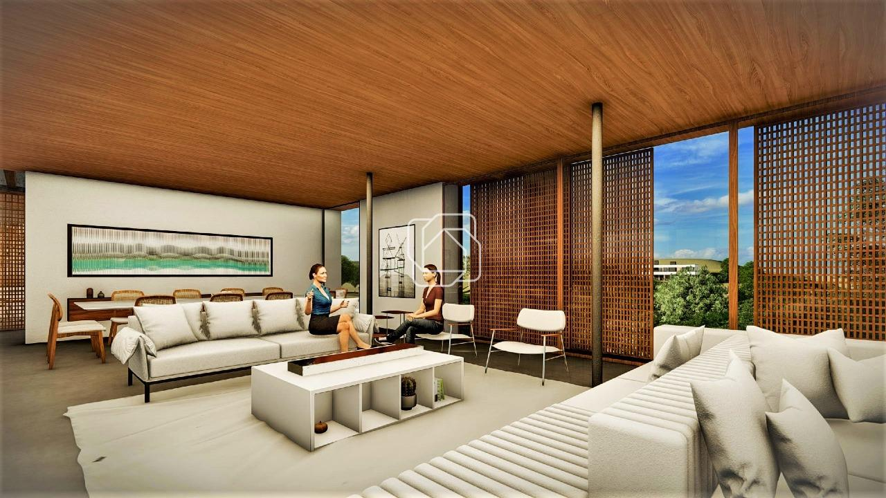 Casa de Condomínio à venda no Terras de São José II: Imagem meramente ilustrativa do projeto em 3D